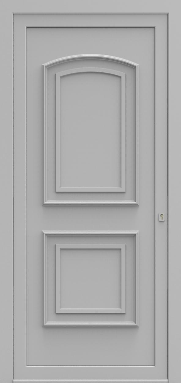 Porte d'entrée 540 ROYAL de la gamme Topline posée par les établissements CELEREAU à Roncq