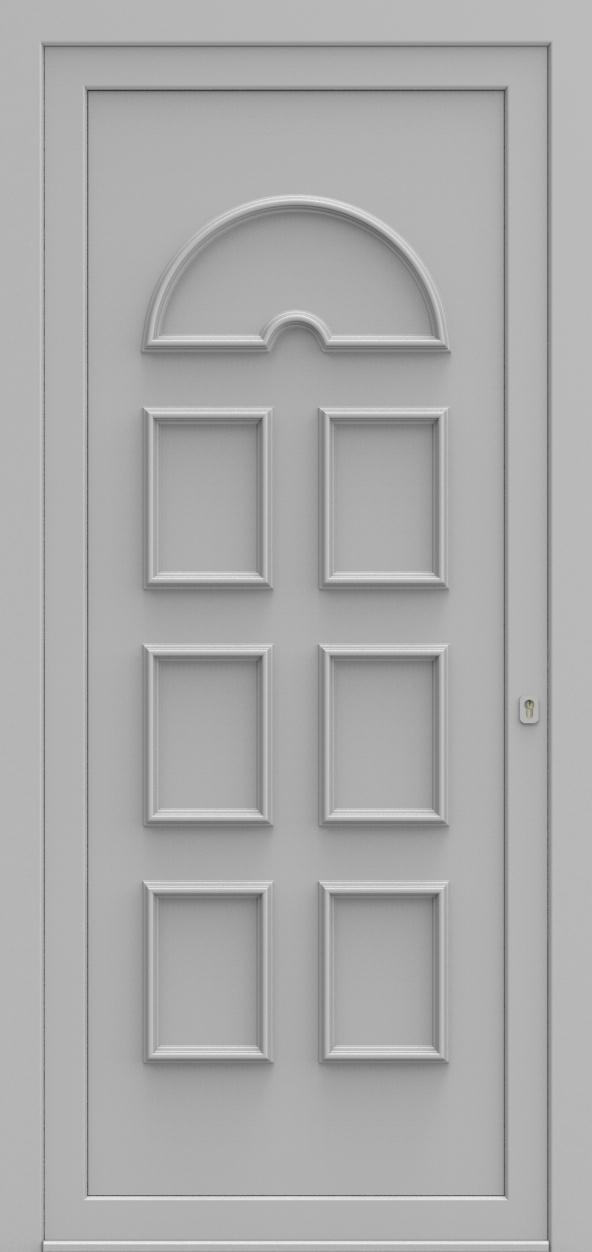 Porte d'entrée 630 NIKITA de la gamme Topline posée par les établissements CELEREAU à Roncq
