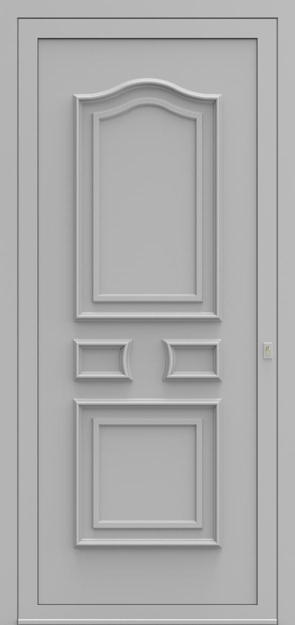 Porte d'entrée 650 CHATEAU de la gamme Topline posée par les établissements CELEREAU à Roncq