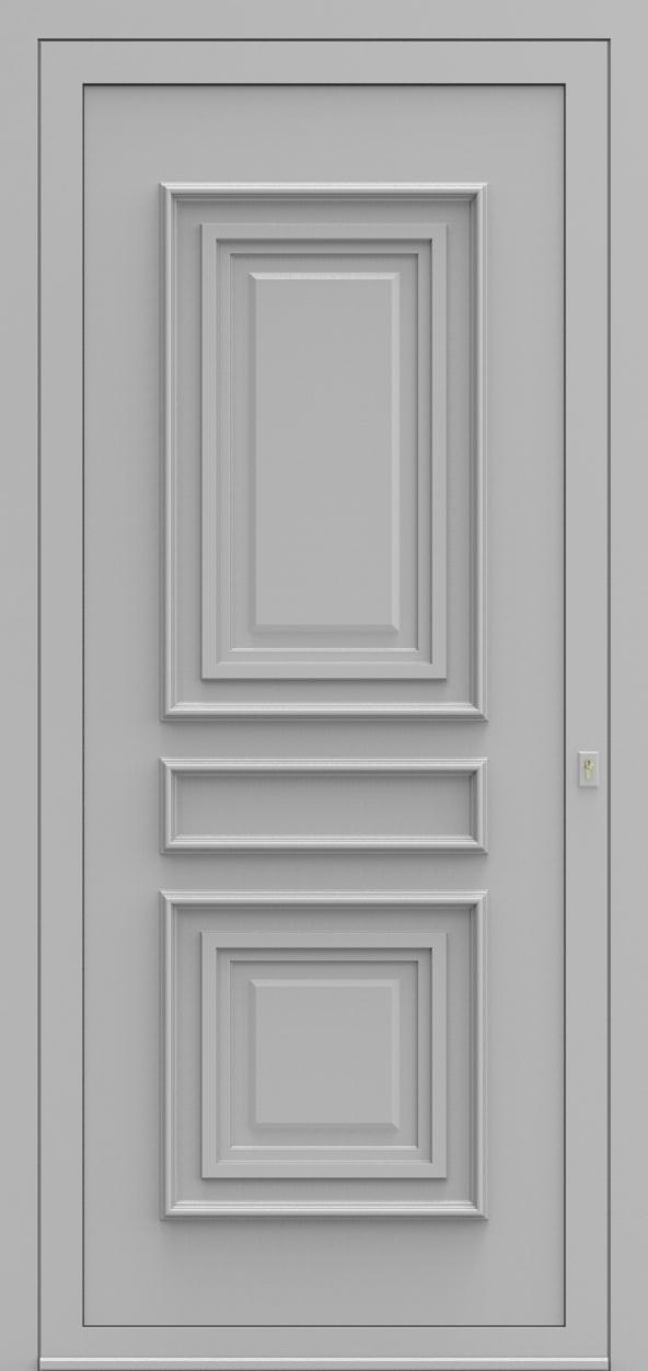 Porte d'entrée 750 MATTEO de la gamme Topline posée par les établissements CELEREAU à Roncq