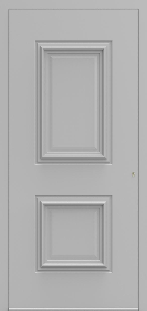 Porte d'entrée 840 TEMPO de la gamme Topline posée par les établissements CELEREAU à Roncq