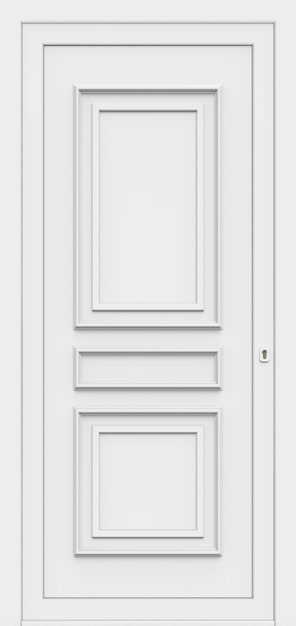 Porte d'entrée 870 AMBASSADE de la gamme Topline posée par les établissements CELEREAU à Roncq
