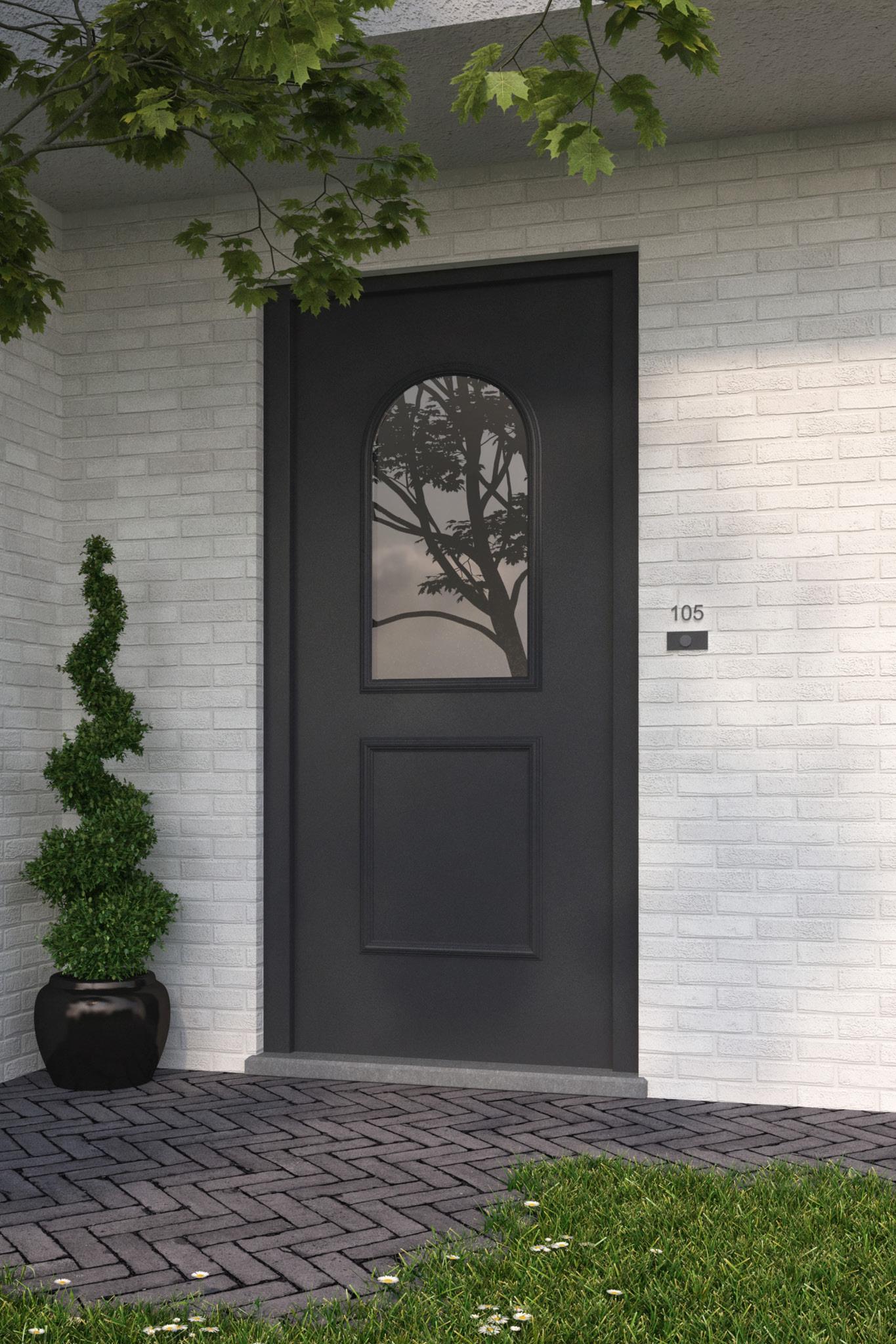 Porte d'entrée de maison : Voici la gamme Alufix