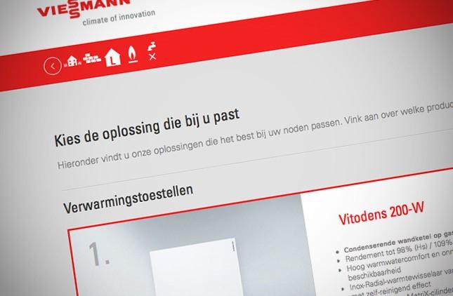 Viessmann selector_oplossing