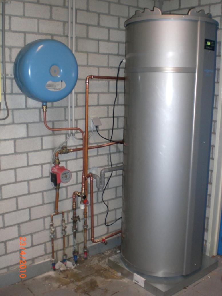 viessmann warmtepompboiler voor sanitair warm water