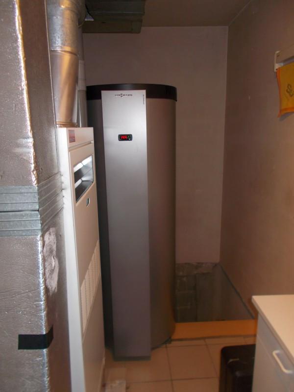 viessmann vitocal warmtepompboiler voor sanitair warm water