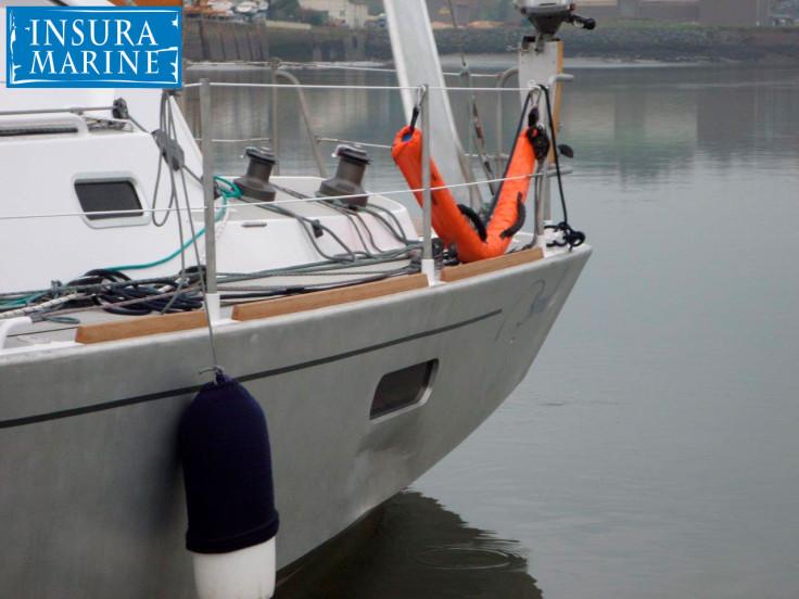 Dommage @ aluminium boat