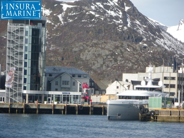 Super Yacht @ Lofoten Island Norway
