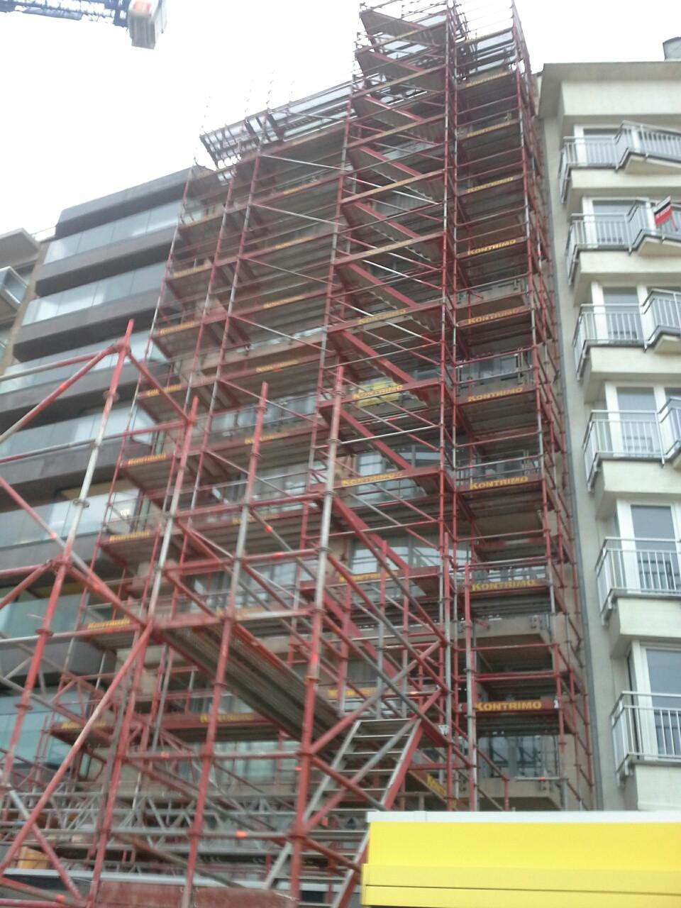 Residentie Duvetorre te Nieuwpoort Duvetorre_detailfacelift_tijdens-web