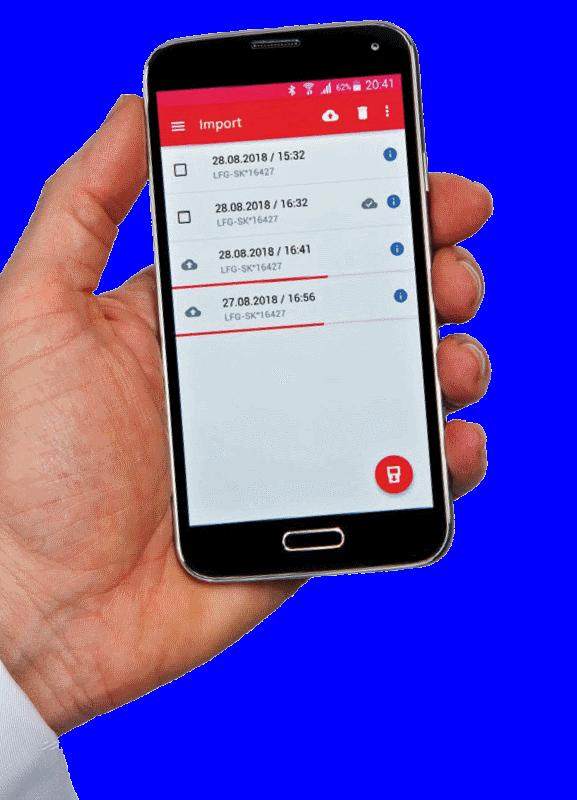 Essai à la plaque dynamique - Zorn dynamisch plaatproeftoestel_Android
