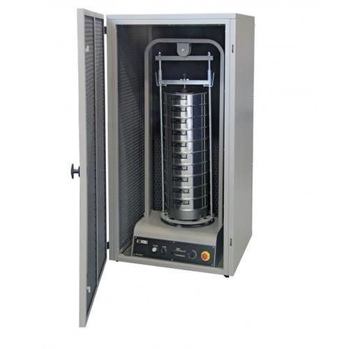 Elektromechanische zeefschudmachine, drievoudige beweging EN 932-5 electromechanical sieve shaker