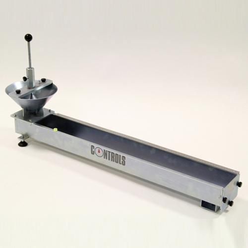Flow test apparatus for grouts flow_test_mortar_65-l0054a1