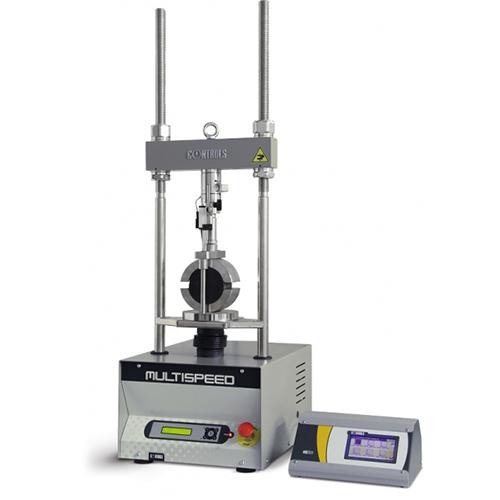 MULTISPEED digital automatic universal tester for displacement controlled tests EN 12697-34 | ASTM D1883 | ASTM D1559 | ASTM D5581 | AASHTO T245 | EN 12697-12 | EN 12697-23 | ASTM D4123 | NF P98-251-1/4 | BS 598:107 | BS 1377:4 | NF P94-078 | AASHTO T193 | EN 13286-47 | ASTM D6927 | DIN 1996 | UNI CNR 10009 | CNR 30 | CNR 34