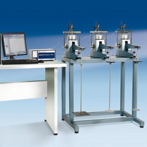 Oedometers, front loading BS 1377:5 | ASTM D2435 | ASTM D3877 | ASTM D4546 | AASHTO T216 | NF P94-090-1 | NF P94-091 | UNE 103-405 | UNE 103-602