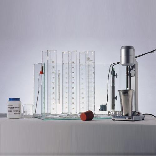 Particle size analysis set: hydrometer method ASTM D422 | AASHTO T88 | UNE 103 -102