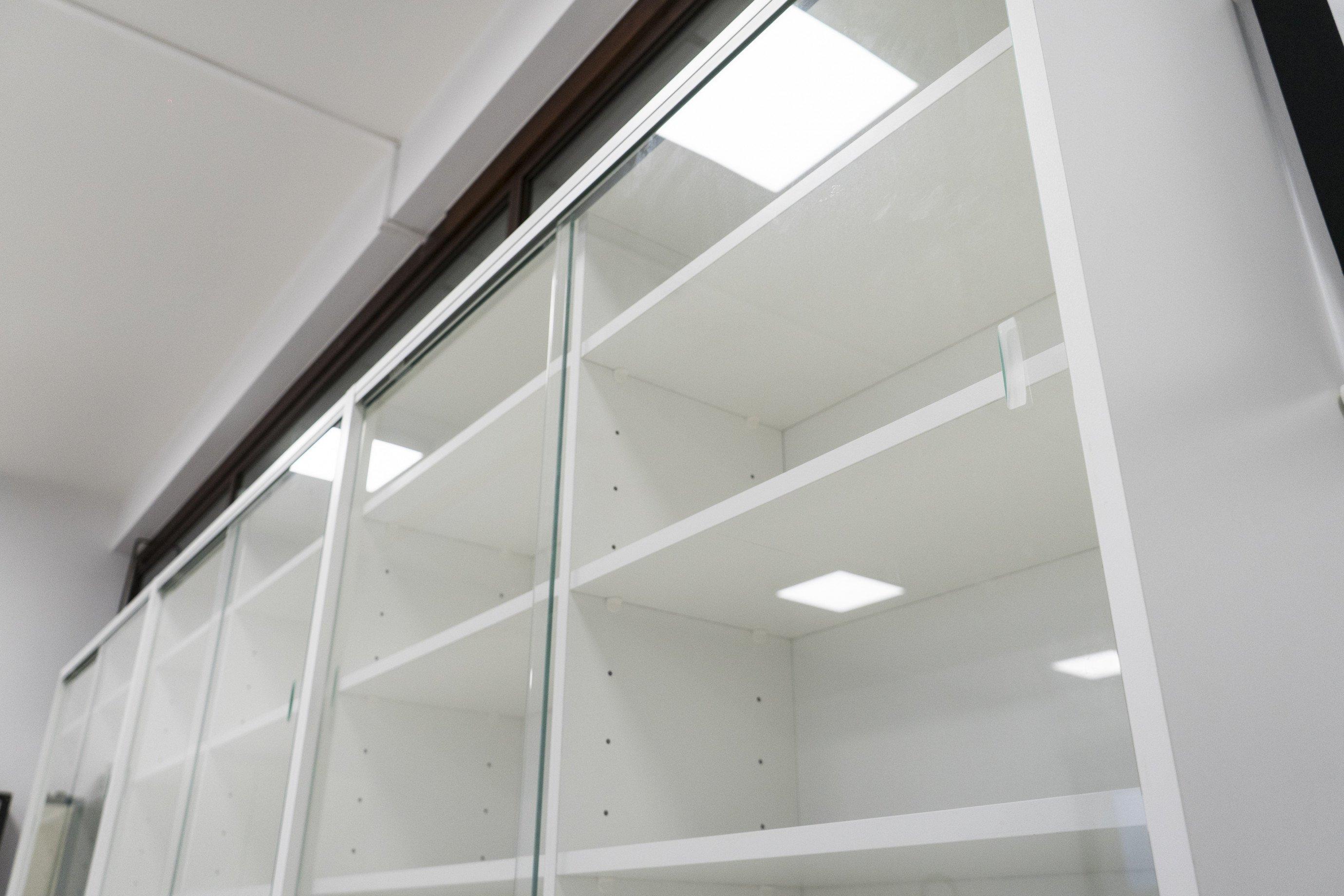 Glazen schuifdeuren in veiligheidsglas