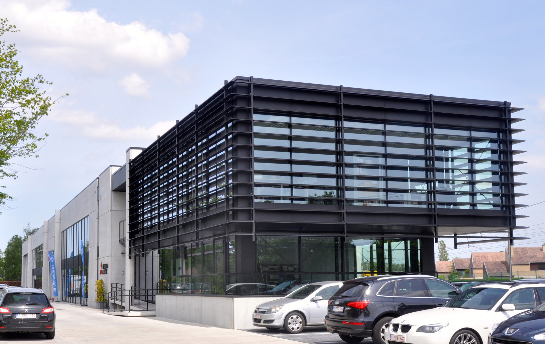 Kantoorgebouw Autobaan3_Brugge_Claeys Architecten