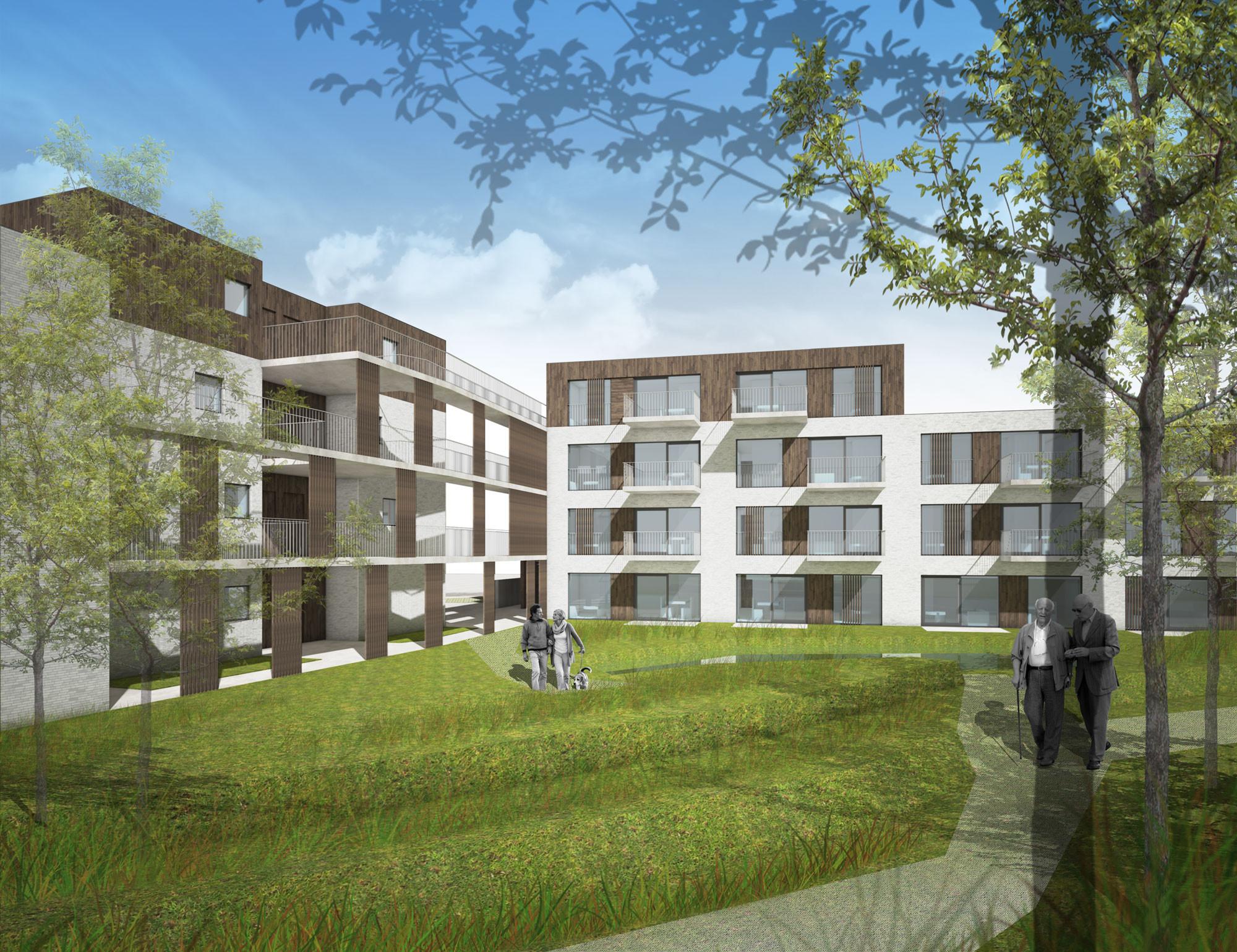 Sociale huisvesting architectuurwedstrijd2_Dijsegem Merelbeke_Claeys Architecten.jpg
