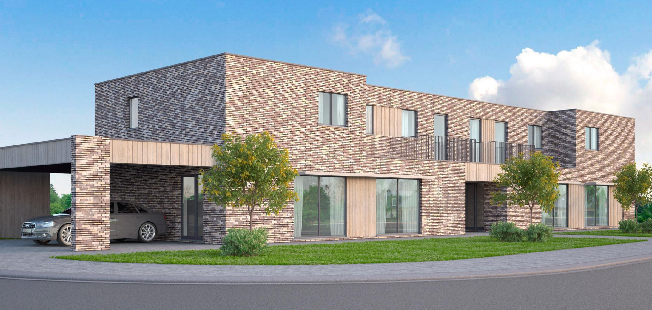 Sociale huisvesting2-Roeselare-CLaeys Architecten