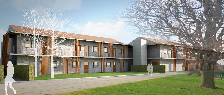 Sociale huisvesting_Diksmuide_Claeys Architecten
