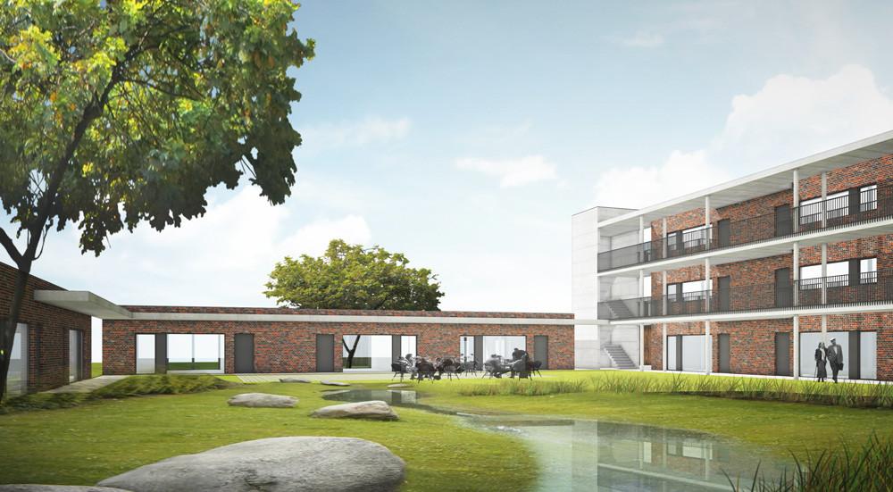 Assistentiewoningen_architectuurwedstrijd_Claeys Architecten
