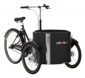 Low_cargo_bike_-_ladcykel_-_black