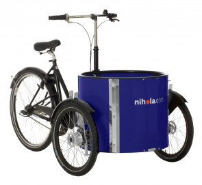 Low_cargo_bike_-_ladcykel_-_blue
