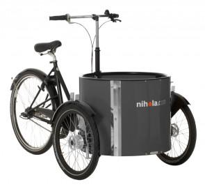 Low_cargo_bike_-_ladcykler_-_dark_grey