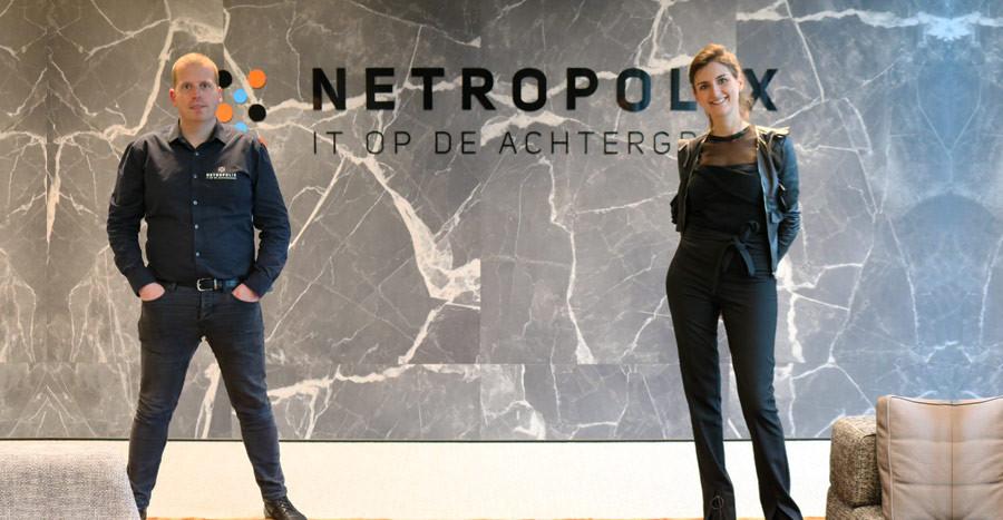 Emanuel van der Aalst en Aïda Sels