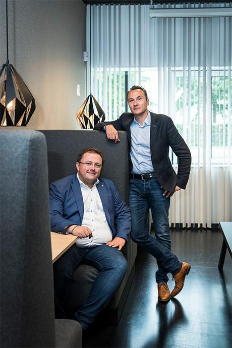 Tim Sleebus en Koen Vanlommel