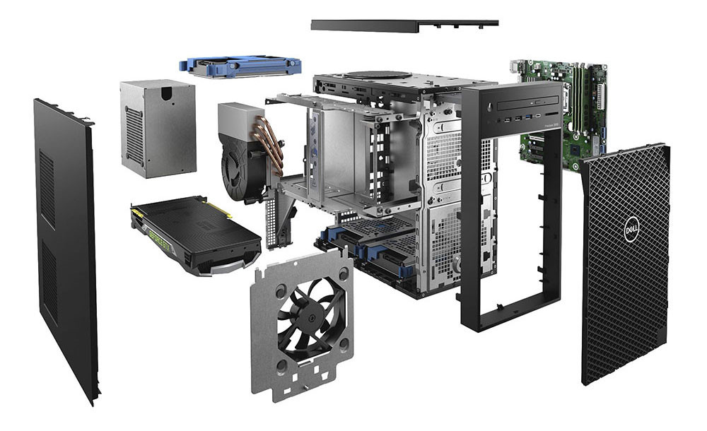 Dell - chassis van Workfast