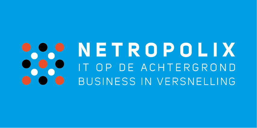 Netropolix logo blauw