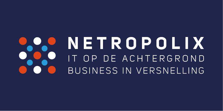 Netropolix logo donkerblauw