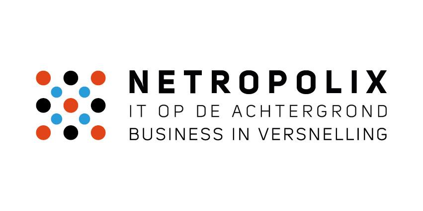 Netropolix logo wit