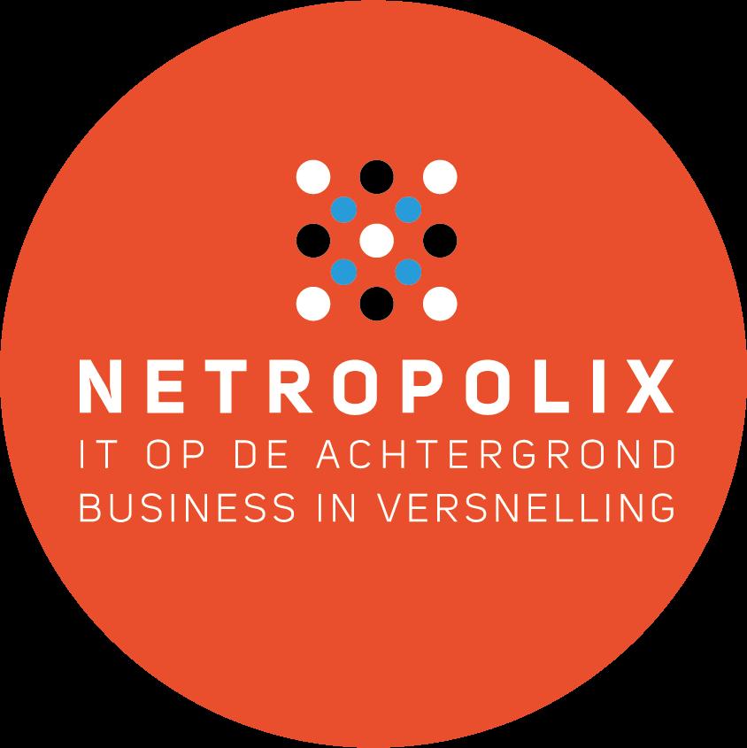 Netropolix logo rond