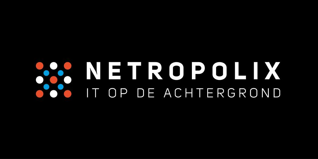 Netropolix Logo Zwart Horizontaal