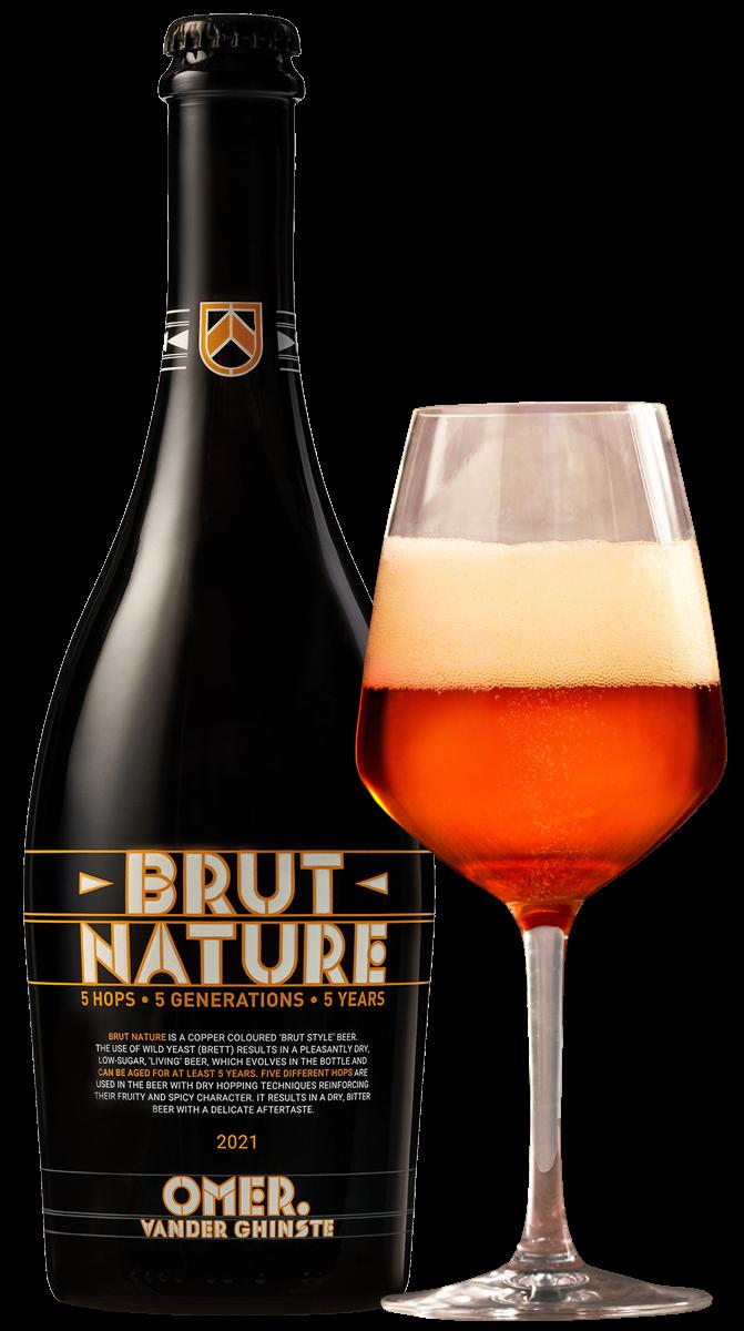 Brut Nature 2021 75cl + glas