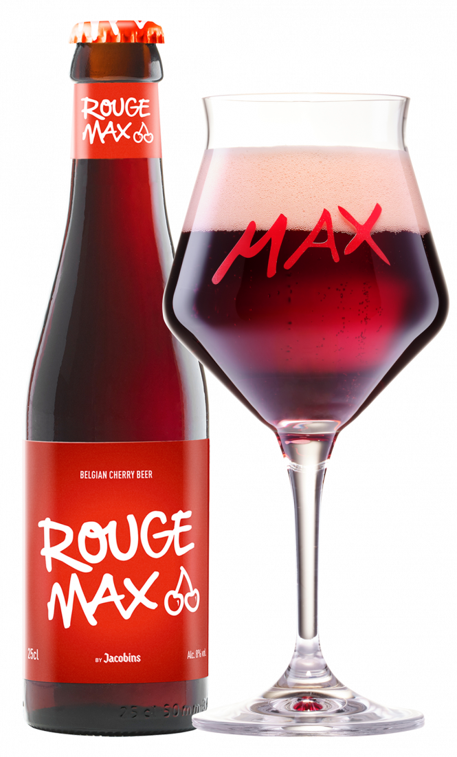 Rouge Max bottle + glass web 2021