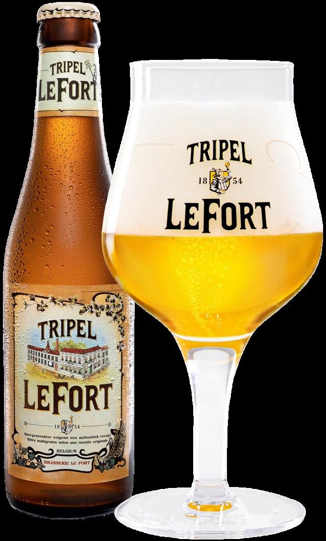 Tripel LeFort bottle + glass 2020 website