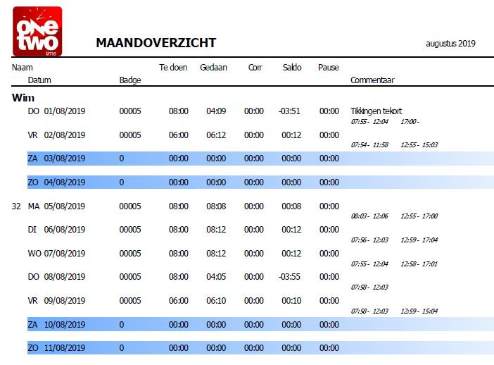 Time_Prikklok_RapportFragment