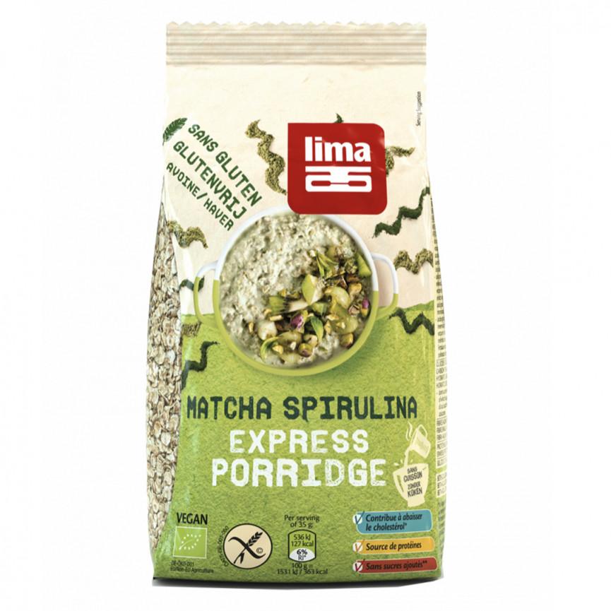 Porridge spirulina