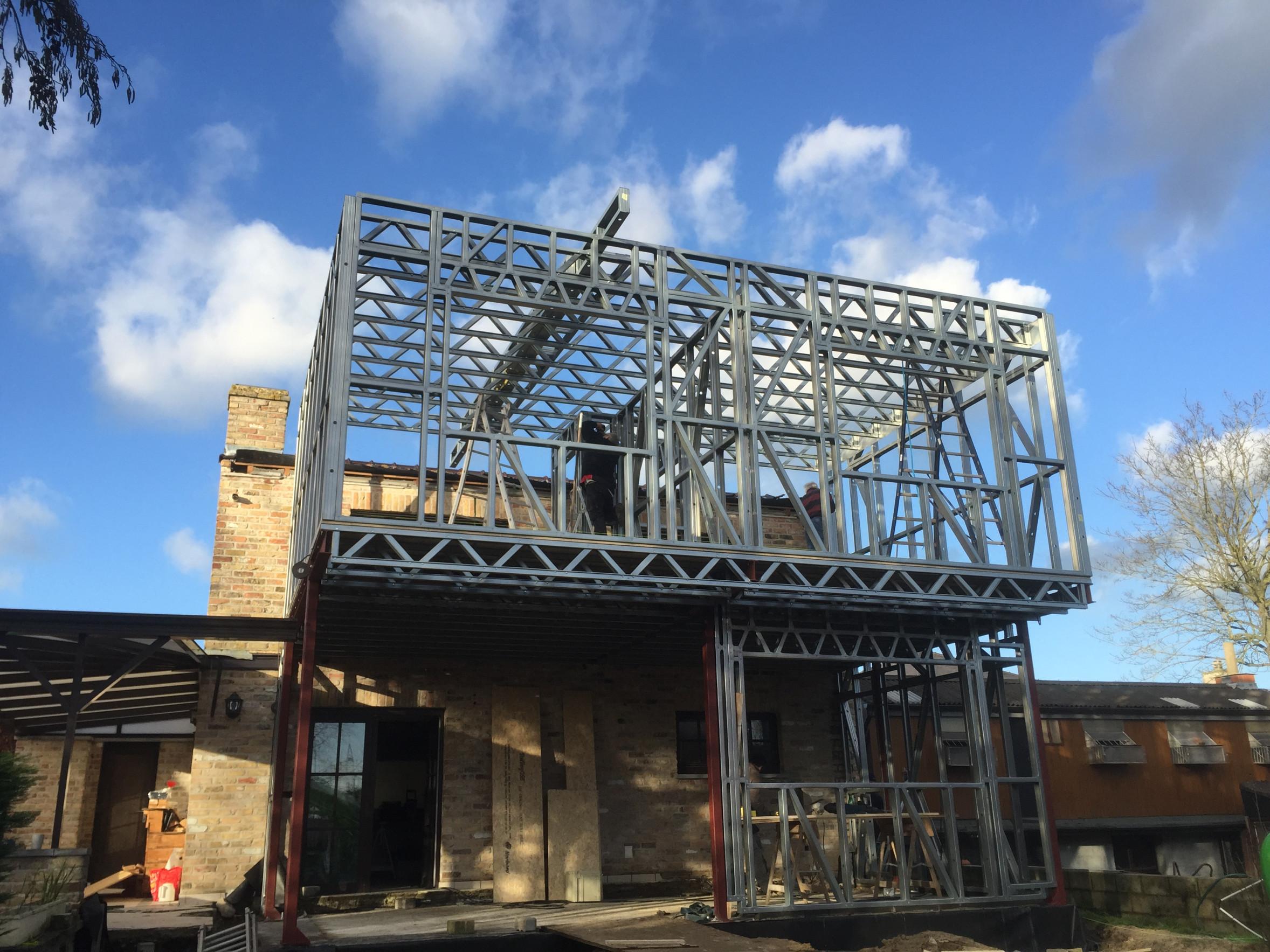 A Uitbreiding Steelframe Bautil