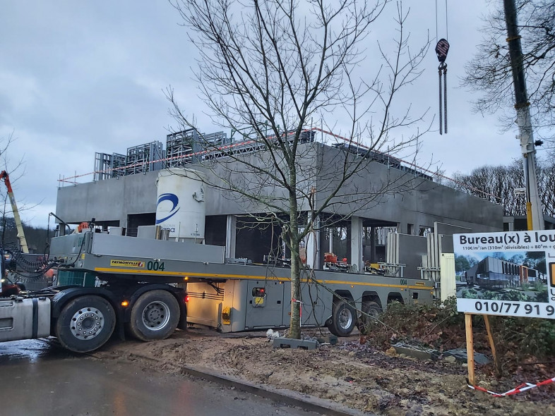 2 Bustin-Waver optopping industriegebouw