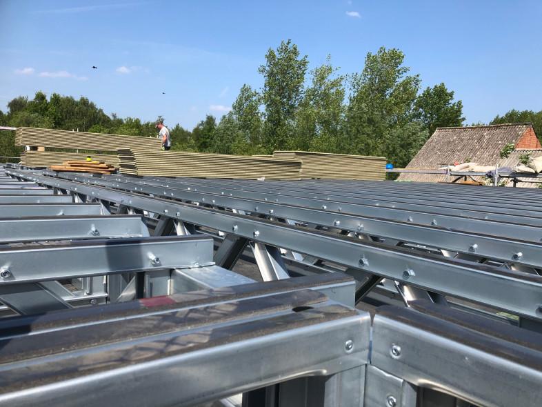 A2 Optopping steelframe De Cauwer - Bornem