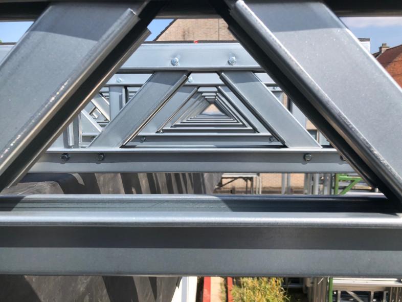 A3 Optopping steelframe De Cauwer - Bornem