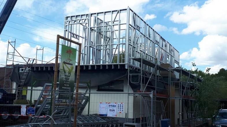 B3 Optopping steelframe De Cauwer - Bornem