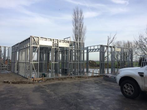 Nieuwbouw Dewicke steelframe opbouwglv