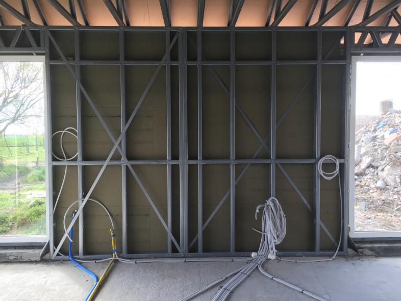 Nieuwbouw Dewicke steelframe techniek
