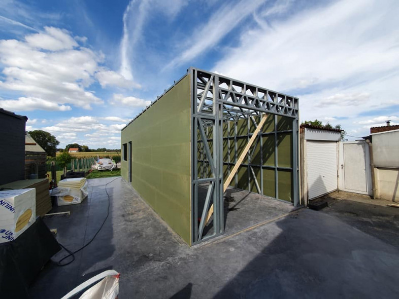 A1 Quicksteel hangaar Laevens