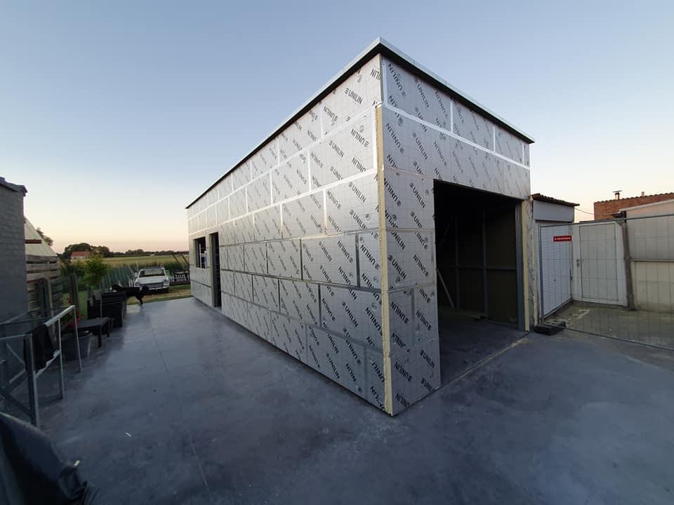 A2 Quicksteel Hangaar Laevens